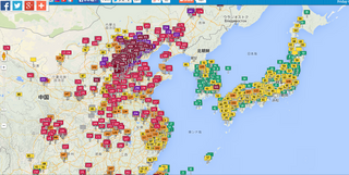 中国の大気汚染:リアルタイム気質指数ビジュアルマップ.png